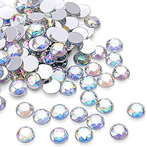 Swarovski 2058 Foiled Flatbacks SS9 Crystal AB 10 gross (1440) No Hotfix Rhinestones Factory Pack ()