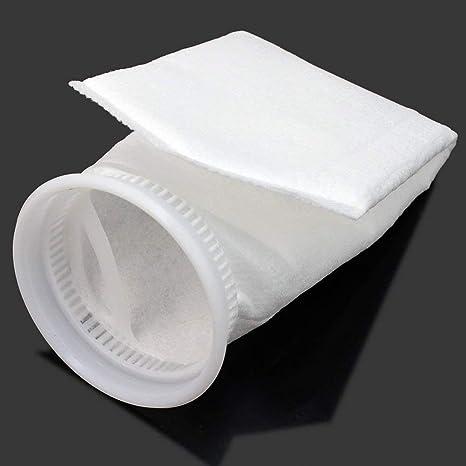 Ndier Micron pr/áctica Peces de Acuario Marino de sumidero de Fieltro Filtro Pre Bolso del calcet/ín del Anillo del Filtro Calcetines Acuario Fieltro Bolsas filtrantes 1PC