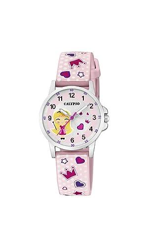 Calypso Watches Reloj Analógico para Unisex Niños de Cuarzo con Correa en Plástico K5776/2: Amazon.es: Relojes