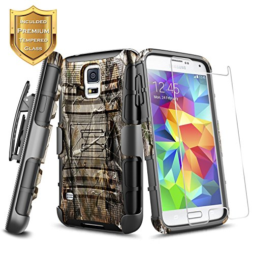 Tempered Glass Screen Protector Guard For Samsung Galaxy S5 SV - 3