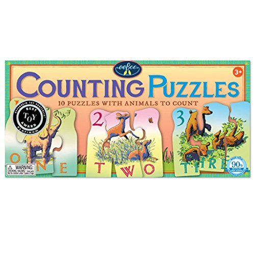 (Animal Counting Puzzles 10 Puzzles with Animals to Count for Children)