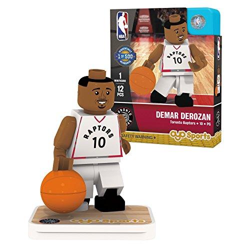 OYO Sports NBA Minifigure Toronto Raptors DeMar DeRozan