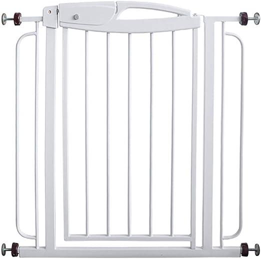 RENJUN Puerta de Seguridad para niños barandilla de la Escalera Cerca del Animal doméstico Puerta de Aislamiento Golpe Blanco Colchón (Color : White): Amazon.es: Hogar