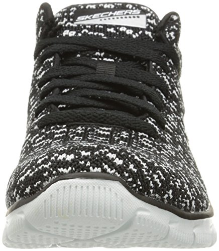 Skechers Sport Donna Elite Trend Setter Fashion Sneaker Nero