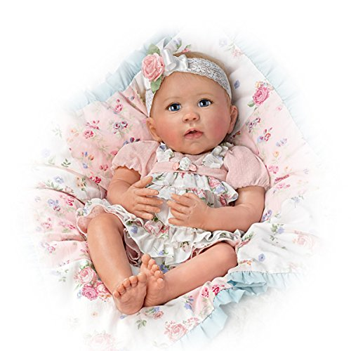 Ashton Drake Lifelike Baby Doll By Linda Murray With Quilt And Basket by The Ashton-Drake Galleries (Image #3)