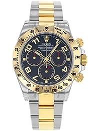 Daytona 116523 BLA 18K Yellow Gold & Steel Automatic Men's Watch