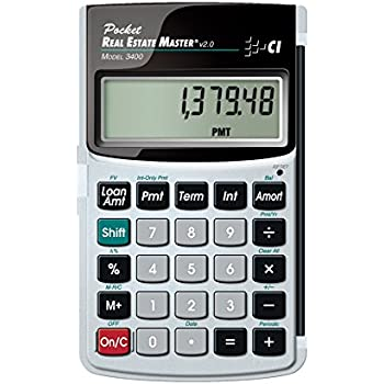 amazon com calculated industries 3415 qualifier plus iiix real