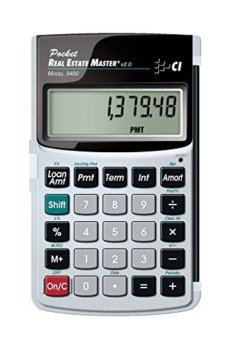 Calculated Industries 3400 Pocket Real Estate Master Financi