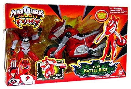 Power Ranger Jungle Fury Power Ranger Cycles with