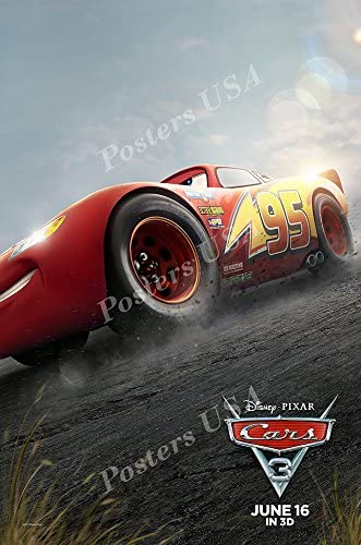 Amazon Com Posters Usa Disney Pixar Cars 3 Glossy Finish Movie