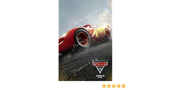 Fil423 Disney Pixar Cars 3 Movie Poster Glossy Finish 2 1 Posters