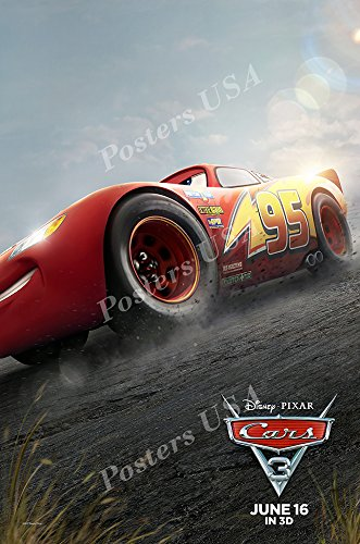 Posters USA - Disney Pixar Cars 3 GLOSSY FINISH Movie Poster - FIL423 (24