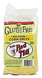 Bob\'s Red Mill Gluten Free Polenta Corn Grits 24 oz (680 grams) Pkg