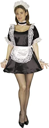 Sexy Upstairs Maid Costume  sc 1 st  Amazon.com & Amazon.com: Sexy Upstairs Maid Costume: Clothing
