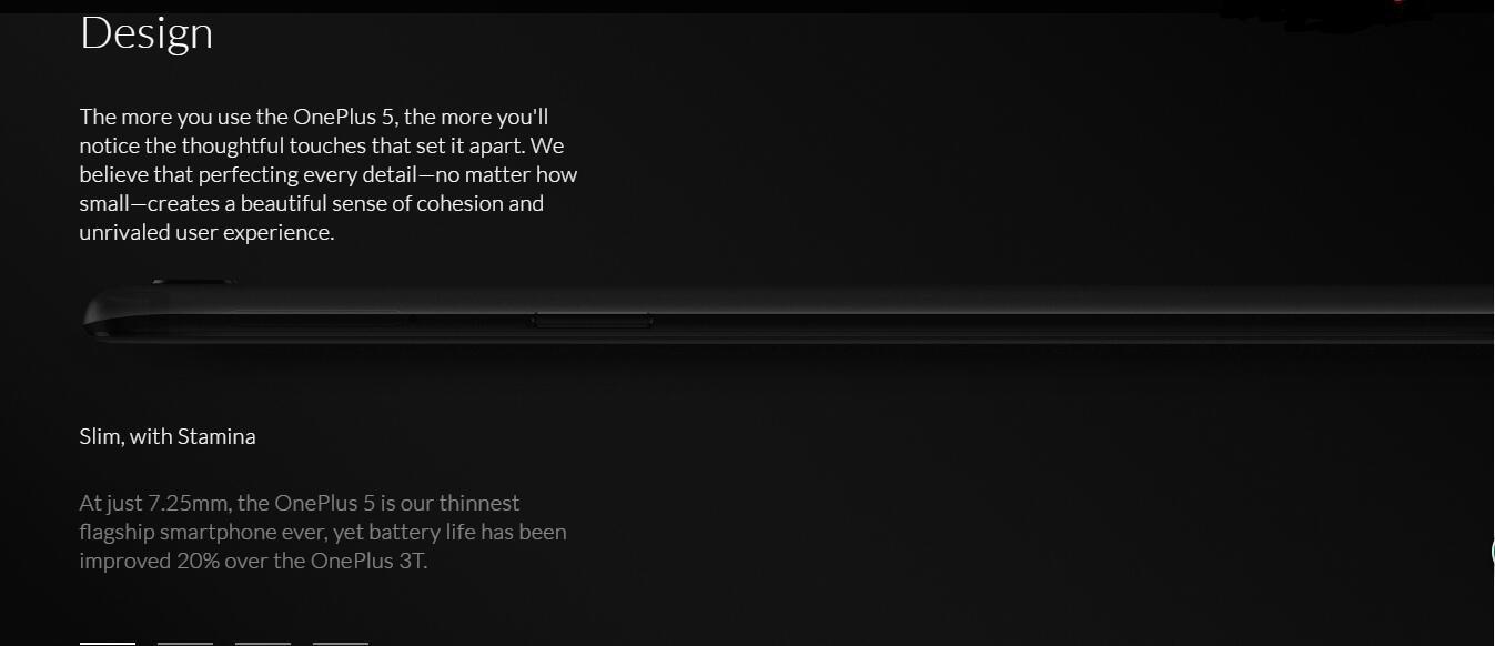 OnePlus 5 A5000 - Black - 8GB RAM + 128 GB - 5 5 inch - International  Version - No Warranty (Midnight Black)