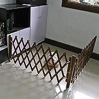 Dongyd Puerta del Perro Puerta del Bebé Guardián Seguro Puerta del Animal Doméstico Cerca del Animal Doméstico Cerca De Madera Puerta Retráctil Puerta Corredera para Perros Barrera Interior: Amazon.es: Hogar