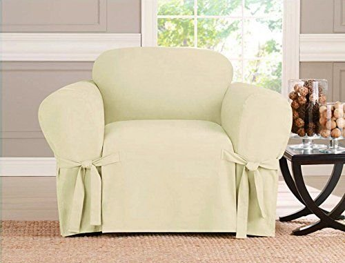 Micro-suede Slipcover Sofa Loveseat Chair Furniture Cover