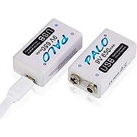 Palo USB 9v 650mAh Batería Recargable de Ion