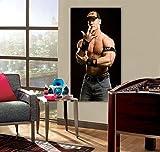 JOHN CENA PRINT On CANVAS Home Wall Decor Art WWE Raw Smackdown Photo P055, Regular