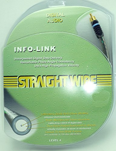 Straightwire Video Link (Straightwire INFO-Link RCA Pure Silver Coaxial Digital Audio Cable 0.5 Meter)