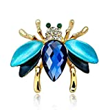 Animals Jewelry Brooch Pins Bee Dragonfly Insect Parrot Bird Beetle Brooches For Women,Insect 1