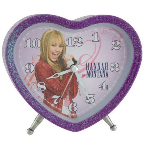 Disney Hannah Montana Heart Shape Alarm (Hannah Montana Alarm Clock)