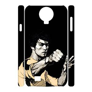 QSWHXN Bruce Lee Phone 3D Case For Samsung Galaxy S4 i9500 [Pattern-2]