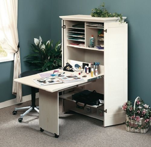 craft sewing machine cabinet storage armoire