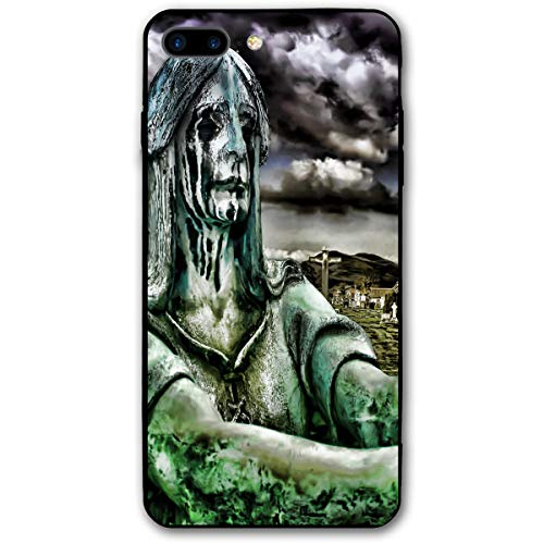 Scary Halloween Sad Gravestone Tombstone Grave Iphone 8 Plus Case, IPhone 7 Plus Case, Ultra Thin Lightweight Cover Shell, Anti Scratch Durable, Shock Absorb Bumper Environmental Protection Case Cover]()