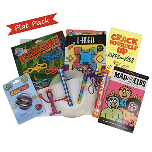 - Beyond Bookmarks Boy's Super Fun Flat Pack - Summer Camp Care Package or Birthday Gift