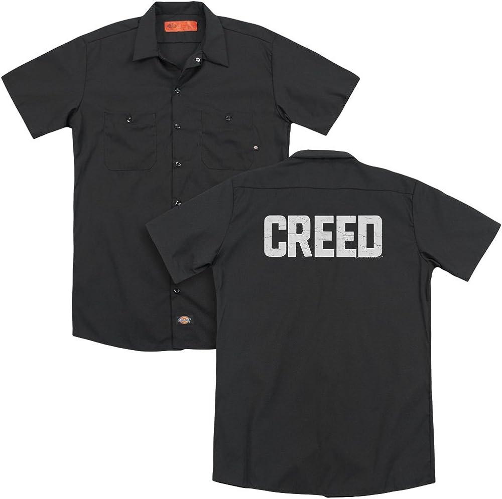 Creed Cracked Logo Adult Work Shirt