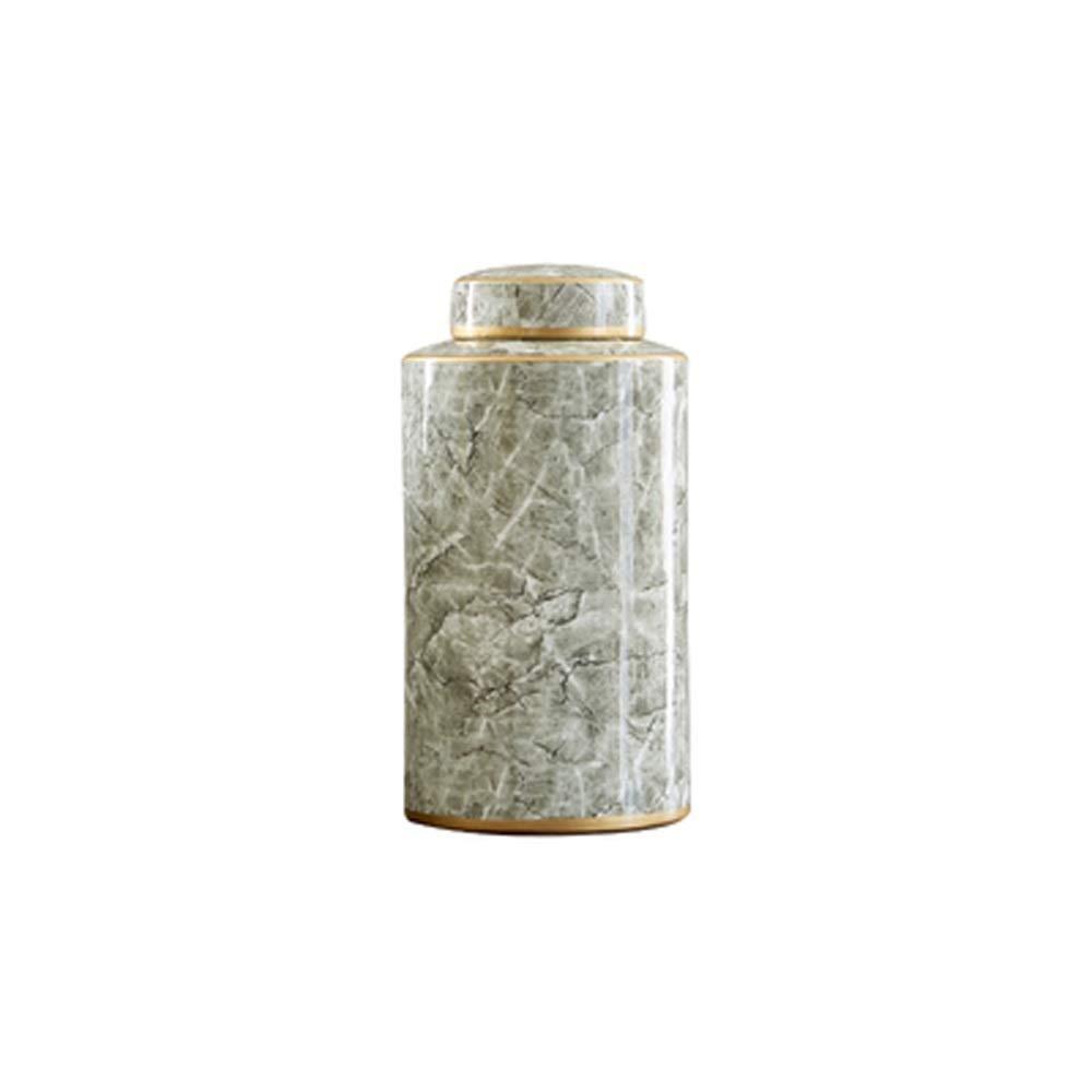 セラミック花瓶用花緑植物結婚式の植木鉢装飾ホームオフィスデスク花瓶花バスケットフロア花瓶 (サイズ さいず : L l) B07RK3788J  L l