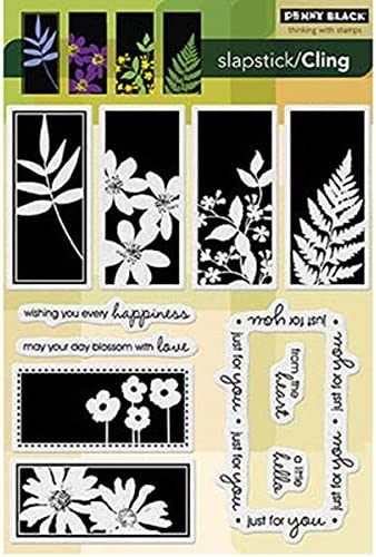 Every Happiness Penny Black Decorative Rubber Stamps