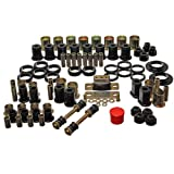 Energy Suspension 3.18112G Bushings - Energy Suspension Hyperflex Bushing Kits Bushing Kit - Polyurethane - Black - Buick - Oldsmobile - Pontiac - Passenger Car - Kit