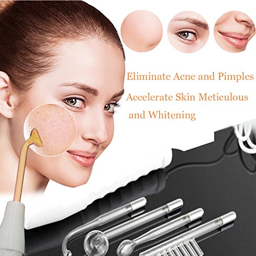 High Frequency Machine, APREUTY Portable Handheld High Frequency Skin Tightening Acne Spot Wrinkles Remover Beauty Therapy Puffy Eyes Body Care Facial Machine