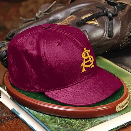 Arizona State Authentic Team Cap Replica Figurine (Team Authentic 220 Cap)