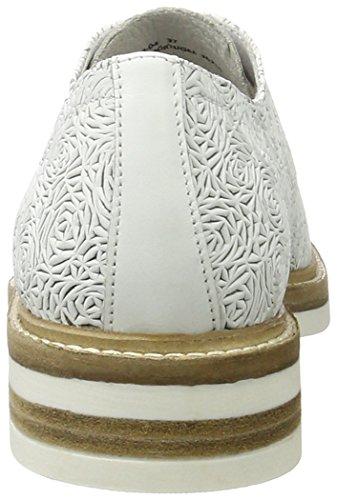 para Oxford Blanco Zapatos 1260 Bmigox White Mujer Bronx de Cordones 04 Bx qZ0wYT