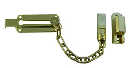 Locking door chain: Amazon.co.uk: DIY & Tools
