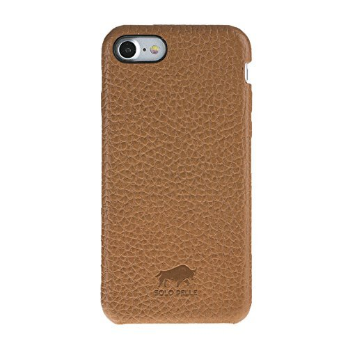 Solo Pelle iPhone 7/8 Leather Carrying Case Fullcover Made of Soft Leather in Premium Quality in Brown incl. Gift Packaging