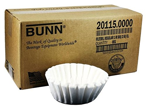 Bunn-o-matic 20115.0000 FILTERS VPS - Qty (Bunn Coffee Pot Filters)