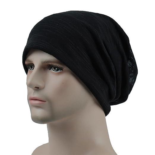 RNTOP Hat Unisex Men Women Head Cap Outdoor Fashion Summer Hip-hop Casual  Hat (Black 0bf79856f7a