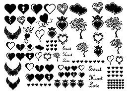 Happy Hearts 1/8\