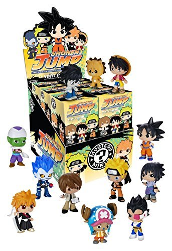 Funko Mystery Minis: Shonen Jump The Worlds Most Popular Manga Toy Action Figure (2 random mystery mini packs) (One Mini Figure World Piece)