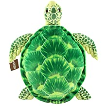 """Jesonn Realistic Soft Stuffed Marine Animals Toy Turtle Plush for Kids' Pillow and Gifts,Green,20"""" or 50CM,1PC"""