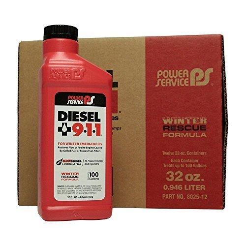 Power Service Diesel 911 – 12/32oz. Bottles