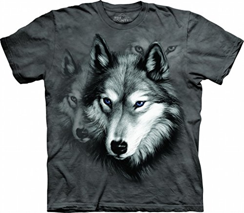 The Mountain Kids Wolf Portrait T-Shirt
