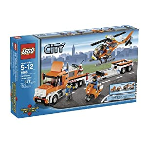 LEGO City Helicopter Transporter (7686)