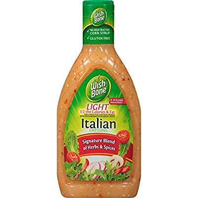 Wish-Bone Salad Dressing, Light Italian, 15 Ounce
