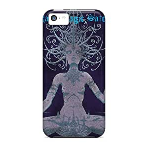 Shockproof Hard Phone Covers For Iphone 5c With Allow Personal Design Fashion Strange Magic Pattern EricHowe