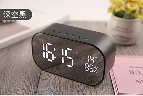 xingganglengyin Bluetooth Speaker Wireless Mini Mobile Alarm Clock Small Sound Computer Car Subwoofer by xingganglengyin (Image #5)